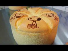 澎塞塞 戚風 烙印 及 徒手 脫模 示範 chiffon cake branding and removing by hand - YouTube