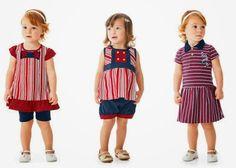 Roupa infantil na moda