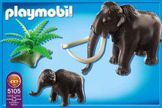 PLAYMOBIL 5105 - Mammut mit Baby: Amazon.de: Spielzeug