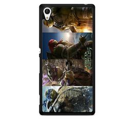 Ninja Turtles Movie TATUM-7972 Sony Phonecase Cover For Xperia Z1, Xperia Z2, Xperia Z3, Xperia Z4, Xperia Z5