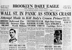 12 Scary Photographs Of The 1929 Wall Street Crash That Kicked Off The Great Depression