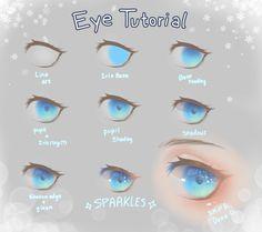 63 New Ideas Drawing Tutorial Anime Eyes - 63 New Ideas Drawing Tutorial Anime Eyes - Eye Drawing Tutorials, Drawing Techniques, Drawing Tips, Art Tutorials, Drawing Male Hair, Digital Art Tutorial, Digital Painting Tutorials, Concept Art Tutorial, Wie Zeichnet Man Manga