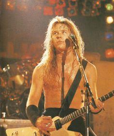 James Hetfield 1986