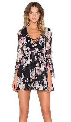 THE JETSET DIARIES Rosa Floral Dress in Rosa Floral