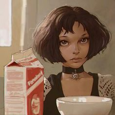 """""""Léon: How do you know it's love if you've never been in love before?  Mathilda: 'Cause I feel it.  Léon: Where?  Mathilda: [stoking her stomach] In my stomach. It's all warm. I always had a knot there and now... it's gone."""" - Leon The professional"""