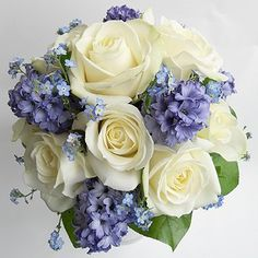 Decoflor Virágstúdió - Kék virágos esküvő