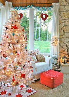 14 Árvores de Natal para você se inspirar