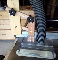 Table Saw Overarm Dust Collection