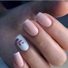 nail polish ideas for winter - nail polish ideas ; nail polish ideas for spring ; nail polish ideas for summer ; nail polish ideas for winter Square Acrylic Nails, Cute Acrylic Nails, Acrylic Nail Designs, Cute Nails, My Nails, Light Pink Nail Designs, Cute Simple Nails, Natural Nail Designs, Classy Nail Designs