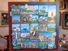 Argentina Te quiero! Pilar Sala  Oléo 100 x 100 cm.