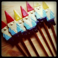 Gnome Garden Stakes