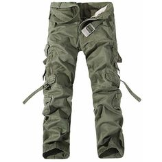 Metal Pockets Zipper Design Straight Leg Cargo Pants ($31) ❤ liked on Polyvore featuring men's fashion, men's clothing, men's pants, men's casual pants, mens zipper pants, mens zip off pants, men's 5 pocket pants, mens multi pocket cargo pants and mens cargo pants
