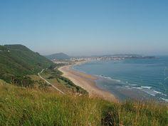 Alto del Brusco, Playa del Trengandín. Camino del Norte. #Cantabria #Travel #Spain