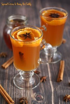 Get the recipe for Spiced Citrus & Honey Hot Toddy at This Mama Cooks! On a Diet -thismamacooks.com