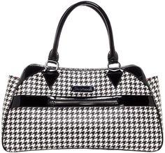 SOURPUSS DEADLY DEVILLE HOUNDS TOOTH PUNK GOTH TATTOO RETRO PURSE BAG HANDBAG in Clothing, Shoes & Accessories, Women's Handbags & Bags, Handbags & Purses | eBay