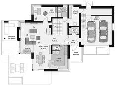 Projekt domu Dom z widokiem 3 186,93 m2 | extradom