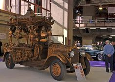 Spanish hearse