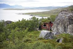 Remote cabin on the Norwegian island of Vannøya. Submitted and photographed Jack Hobhouse.