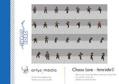 https://flic.kr/p/DmfZNN | Chaos Lore · Hammer brother 01 | Diferentes poses del personaje Hammer brother para el juego Chaos Lore realizado en Unity 3D.  Modelado con Trimble SketchUp.