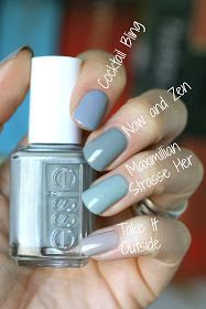 Essie Envy: Essie Fall 2016 Kimono Over Collection - Swatches, Review