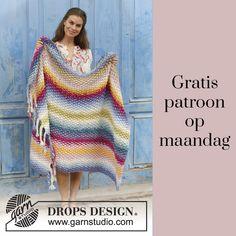 Gratis patroon op maandag - Breipatroon Deken. Ontvang ieder maandag het gratis patroon en een leuke aanbieding van het garen.