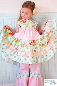Hayden Girl wrap dress...Momi boutique. $87.00, via Etsy.