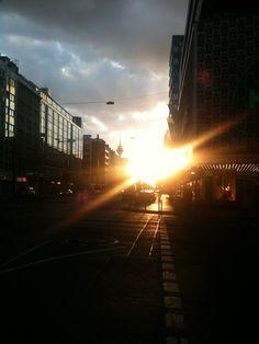 So startete das Webvideo-Wochenende 2012 in Düsseldorf...