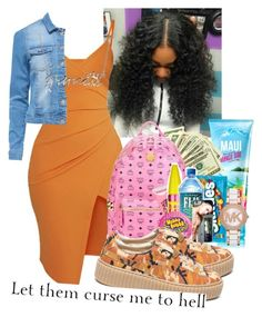 """""""Cash Flow"""" by cravepinky ❤ liked on Polyvore featuring Pretty Little Thing, Puma, Bling Jewelry and Michael Kors"""