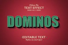 Photoshop Text Effects Volume 1 by Marvel on @creativemarket
