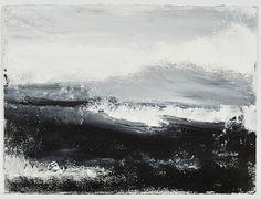 John Virtue - Works available from Marlborough Fine Art London, UK Abstract Landscape Painting, Landscape Art, Landscape Paintings, Sea Paintings, Abstract Art, Environment Painting, Art Themes, Western Art, Fine Art