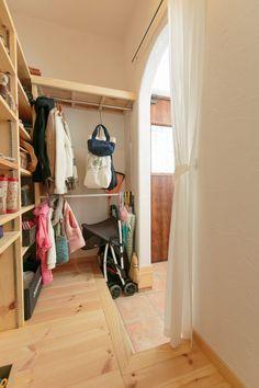 【アイジースタイルハウス】収納。収納するものを考えて作られたシューズクローゼット