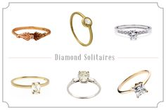 Engagement Rings Under $2,500 #SnippetandInk
