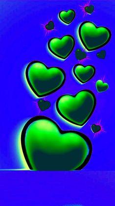 Love Animation Wallpaper, Love Wallpaper, Wallpaper Ideas, Heart Iphone Wallpaper, Cellphone Wallpaper, Heart Pictures, Heart Images, Blue Wallpapers, Wallpaper Backgrounds