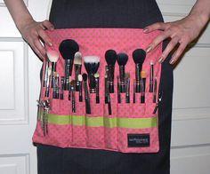 Custom Makeup Artist Brush Belt from aSoftBlackStar,