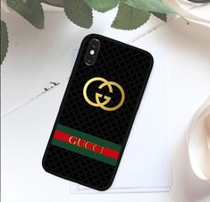 28 best iphone case images i phone cases, iphone cases, supreme casegucci black logo case for iphone 5 5s 6 6s 7 8 plus x samsung s note cover