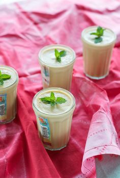Cantaloupe Cream Shooters from An Unrefined Vegan. Gluten-free, Sugar-free, Raw