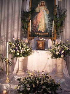 Altar of Repose in Carmine church, Good Friday 2011