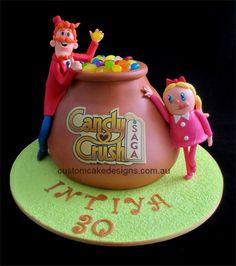 Candy+Birthday+Cake+Ideas   Facebook Candy Crush Birthday Cake by CustomCakeDesigns