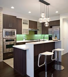 Kitchen Design For Small Apartment contemporary kitchen design pictures & photos | kitchens, black