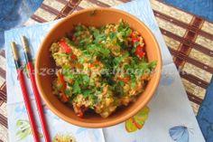 Fűszermánia: Tojásos sült rizs dobva-rázva Wok, Guacamole, Lime, Mexican, Ethnic Recipes, Cilantro, Red Peppers, Limes, Mexicans