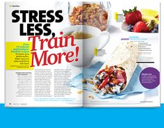 Stress Less, Train More from Oxygen's September 2011 issue. Click through for your sneak peek!