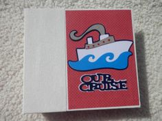 Cruise Scrapbook by SimplyMemories on Etsy