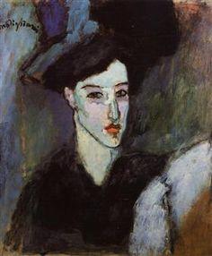 The Jewish Woman - Amedeo Modigliani