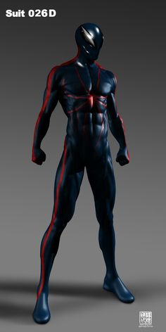 Cool Spiderman Suits Concept Art For The Amazing Spider man Revealed