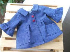 18 inch Doll Clothes American Girl Denim Coat by HoleInMyBucket, $17.00