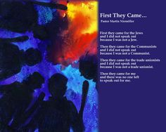 FREE! Lesson plans for Holocaust poetry and accompanying paintings.
