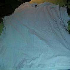 Hanes tagless t shirt White hanes Tops Tees - Short Sleeve