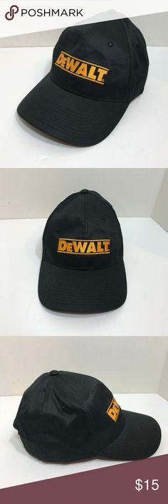b45b4d58394 Dewalt Snapback Cap Appears to be unworn Embroidered Dewalt Logo One Size  Fits most Promotional Merchandise