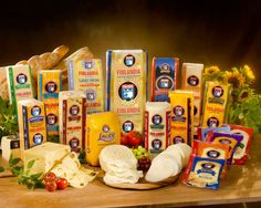 Finlandia Cheese Inc., a Parsippany, N.J.-based subsidiary of Valio Ltd., introduced eight cheeses at International Dairy-Deli-Bake 2012. Provolone, American, Cheddar, Monterey Jack, Havarti, Pepper Jack, Colby Jack and Jalapeno Muenster join Finlandia's existing line including Swiss, Light Swiss, Lacey Swiss and Muenster. The SRP for the loaves range from $6.99-$8.99/pound, while 6- and 7-ounce pre-sliced packs have a SRP of $4.99.    For more info, call 973-316-6699…