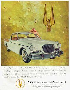 Studebaker Golden Hawk, 1957